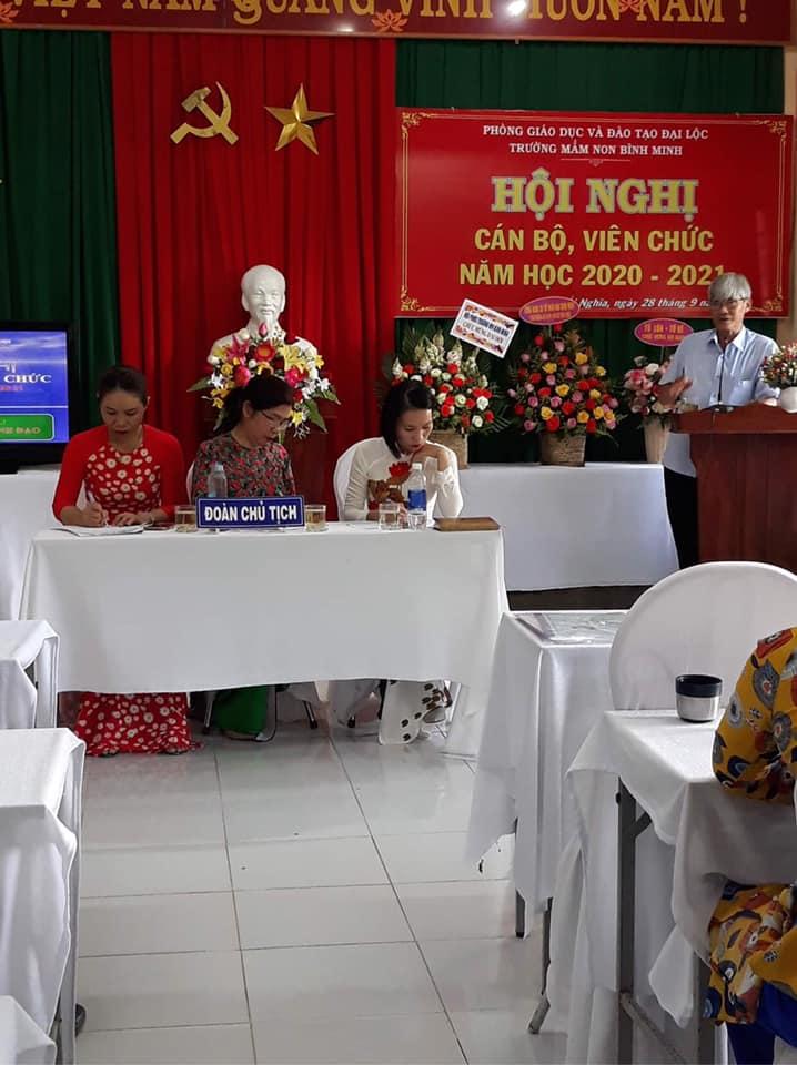 Ảnh HNCBVC năm học 2020-2021 Trường MN Bình Minh